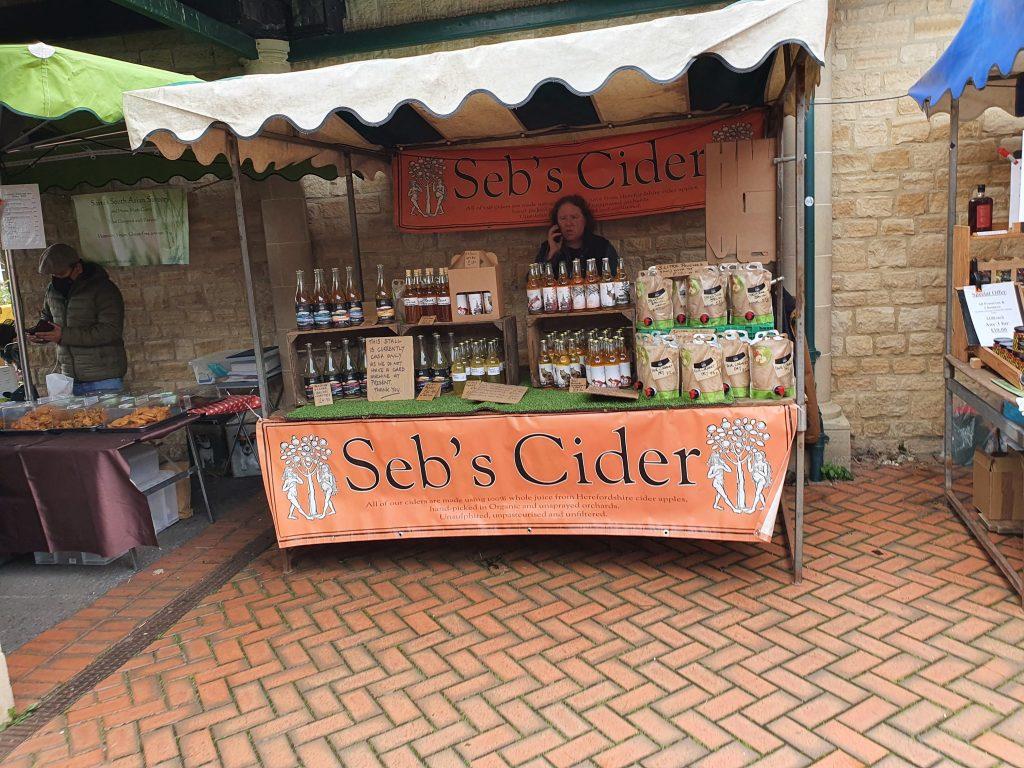 Cider at Stroud Farmer's Market